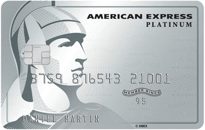American Express Tarjeta de Crédito American Express The Platinum Credit Card