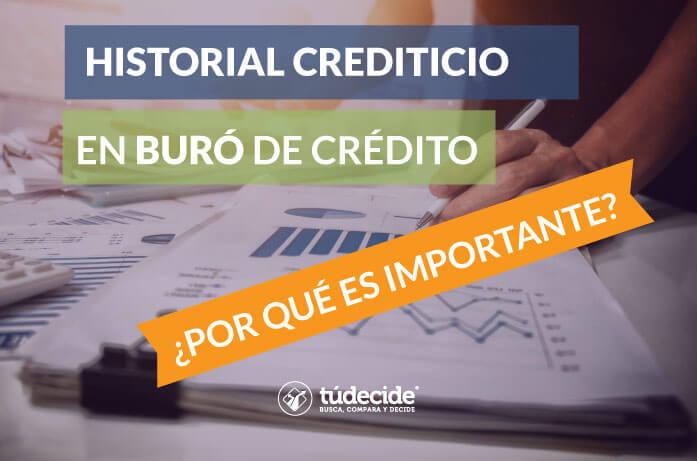 Por qué es importante el historial crediticio