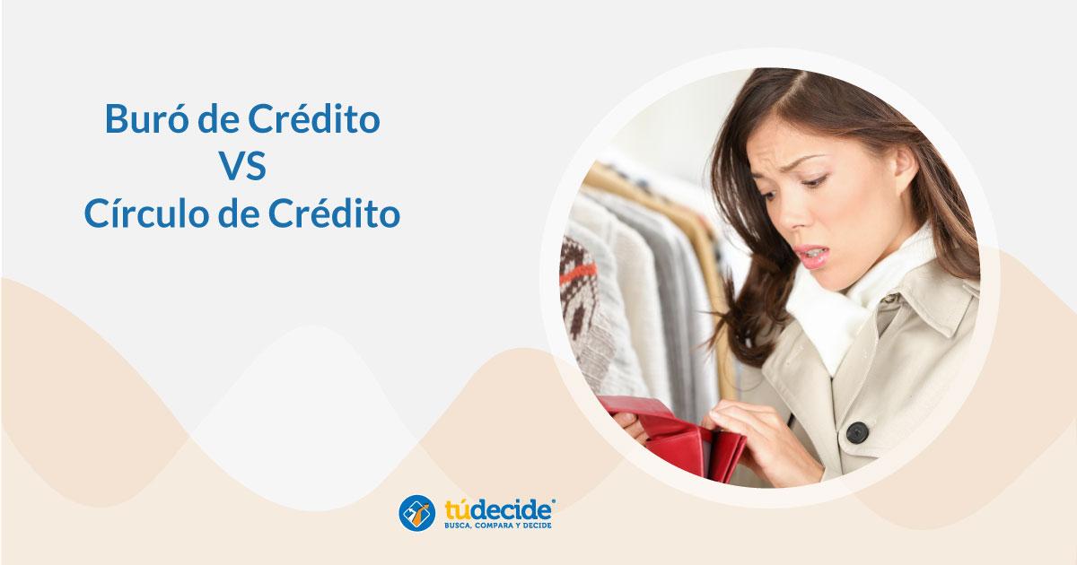 Buró de crédito y Circulo de crédito