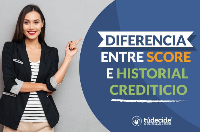 Score e historial crediticio
