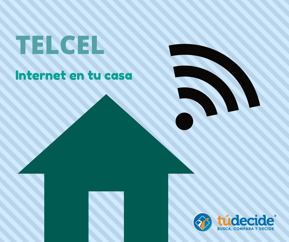 Telcel internet en tu casa