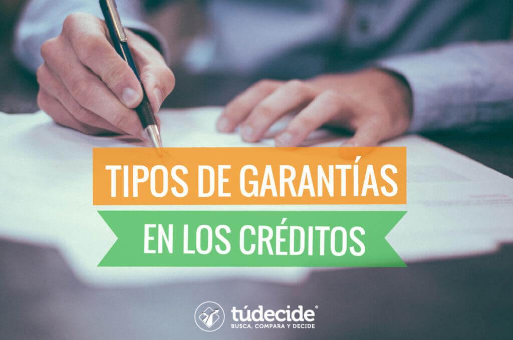 garantía en los créditos