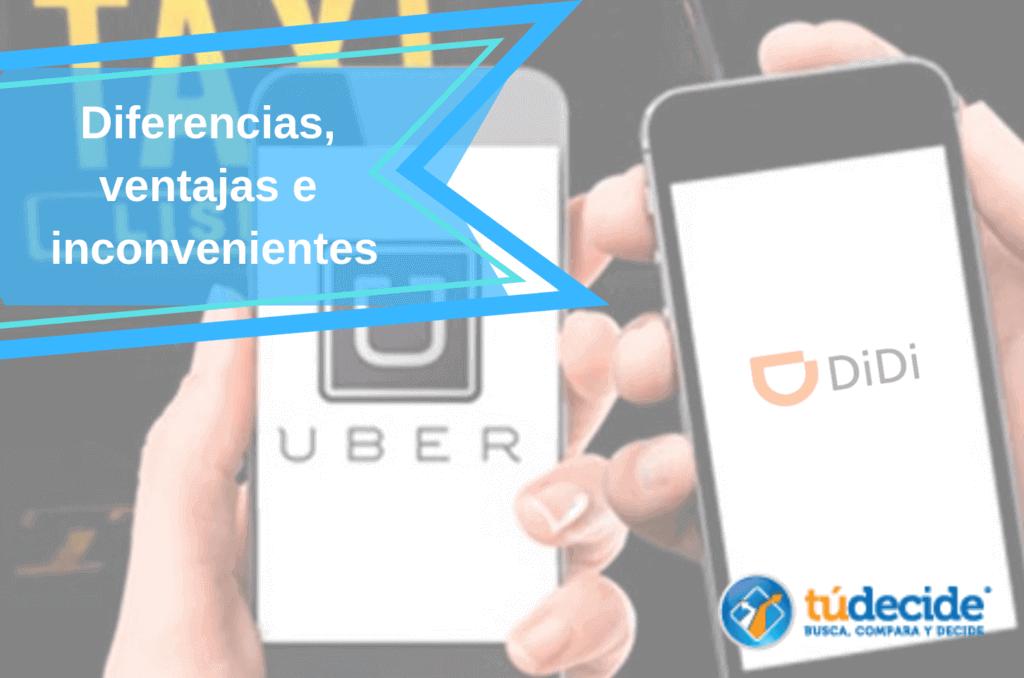 Diferencias entre Didi y Uber