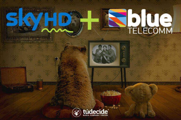 Combos Sky HD + Blue Telecomm