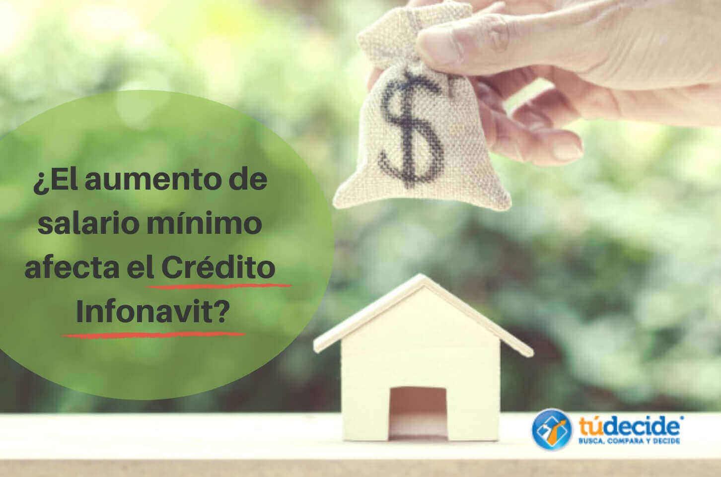 salario mínimo afecta el Crédito Infonavit