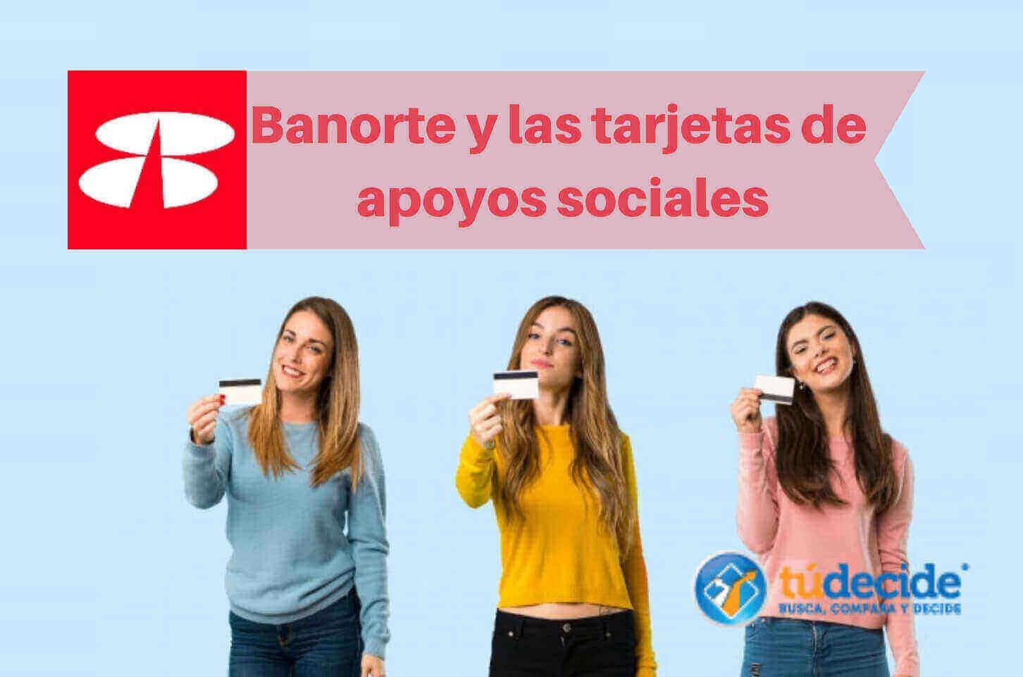 Banorte y las tarjetas de redes sociales