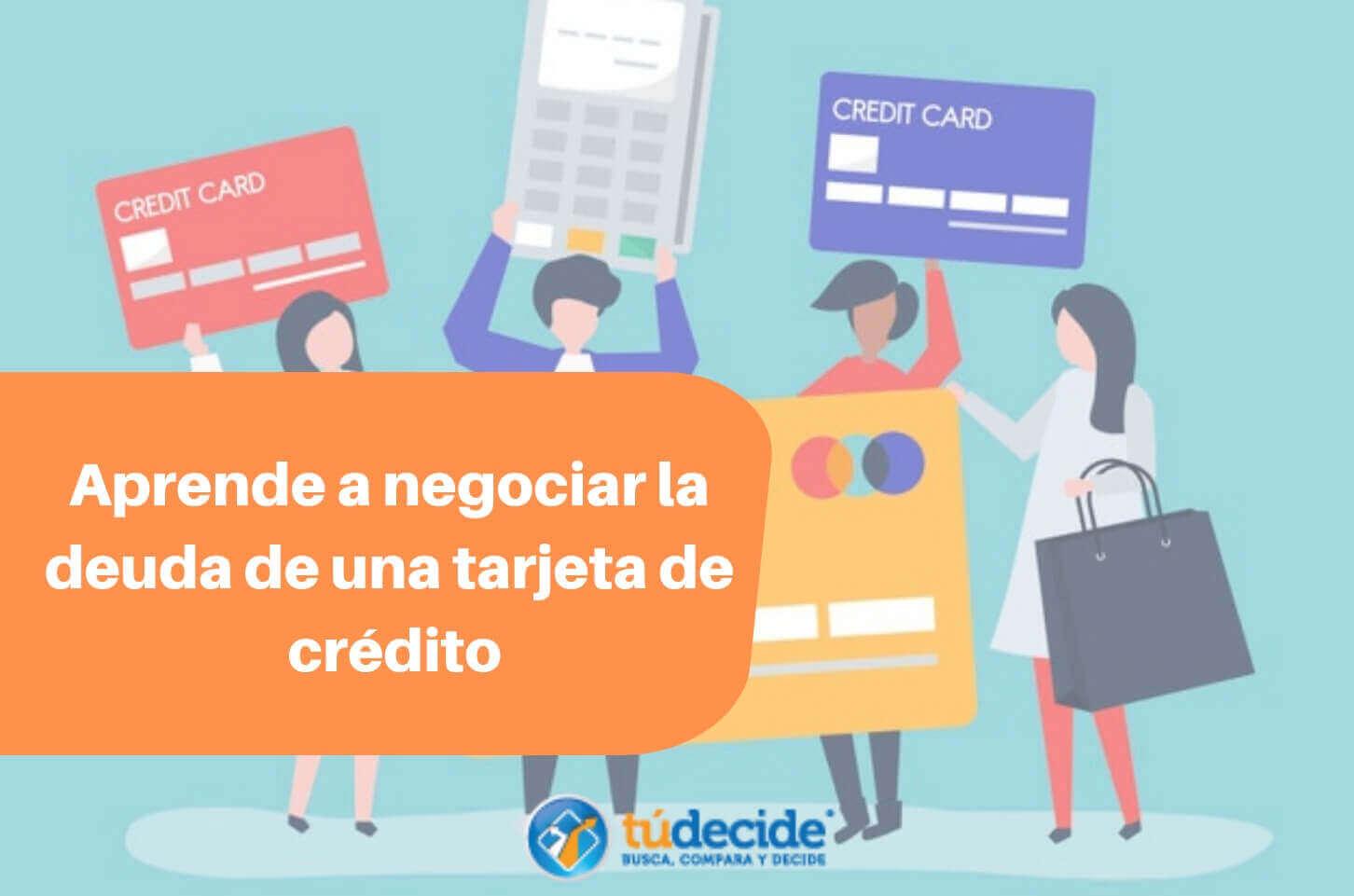 negociar la deuda de una tarjeta de crédito