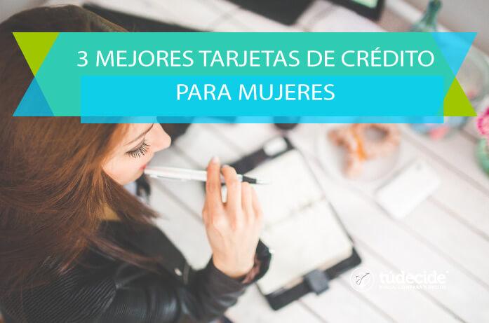 tarjetas de crédito para mujeres